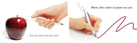 color scanning pen design