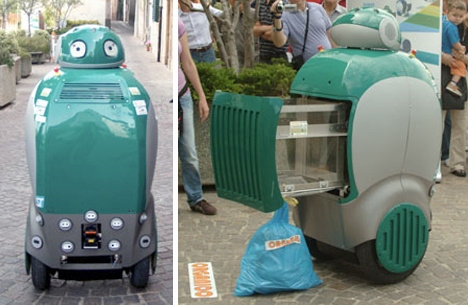 dustbot real life wall e