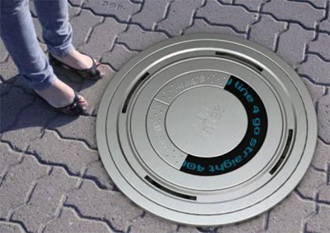 eco sign manhole of the future