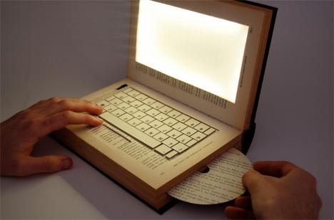 future of books kyle bean laptop book