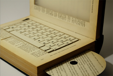 future of books laptop book