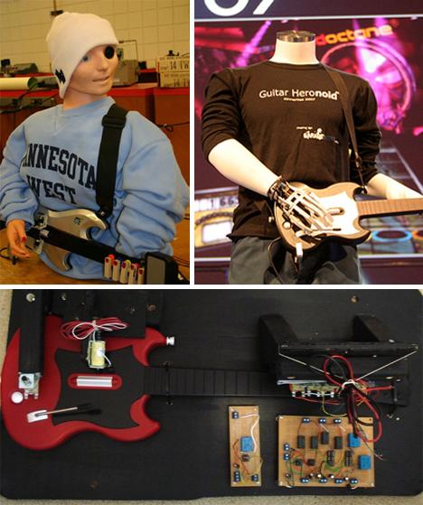 guitar hero robots