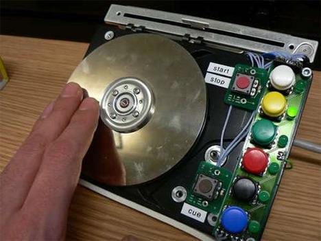 hddj colordex hard drive turntable