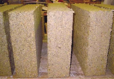 hemcrete environmentally friendly building material