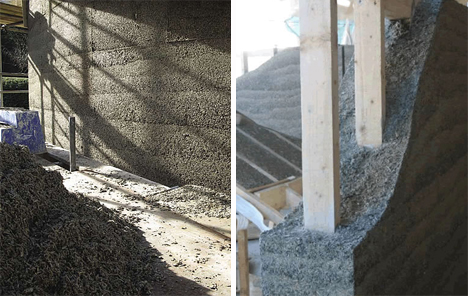 hemcrete hemp building material