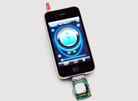 iphone chemical sniffing app and device