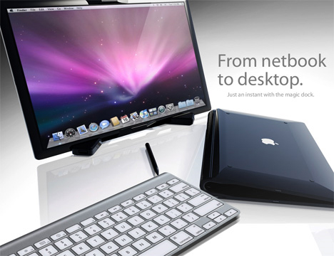 macbook touch netbook to desktop flexible computer