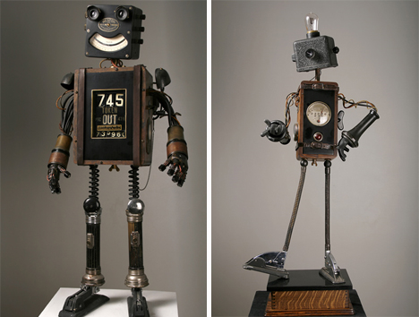 Junkbots 8 Artists Creating Lovable Bots From Trash