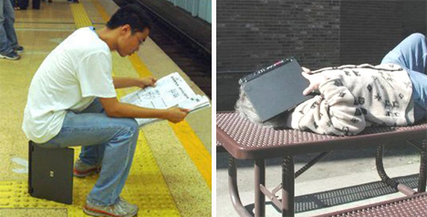 other ways to use laptop