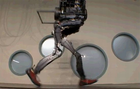 petman walking robot