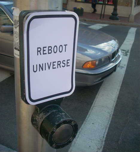 reboot universe crosswalk button