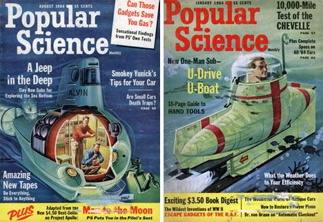 retrofuturistic submarines