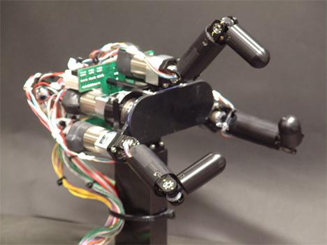 sensor fusion grasping robotic hand
