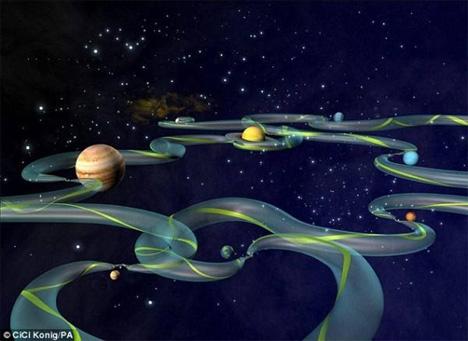 space corridors