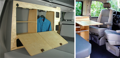 Space Case Compact Camper Van Carries Everything