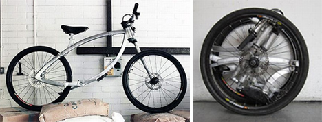 the contortionist folding bike