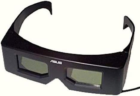 3d shutter glasses