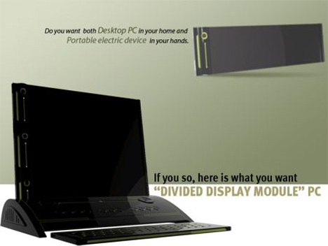 DDM divided display module computer