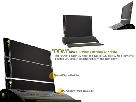Divided Display Module
