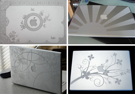 amazing apple engraving art