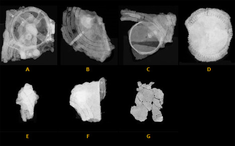 antikythera mechanism fragment radiographs