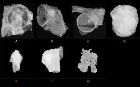 antikythera mechanism fragment radiographs
