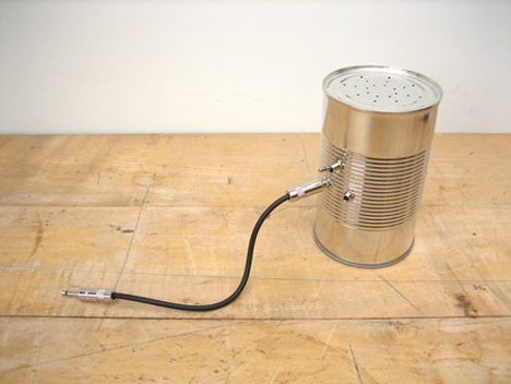 audio can simple ipod speaker