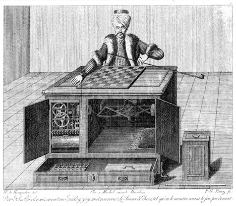 automaton chess player turk