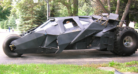 bob dullam homemade tumbler batmobile