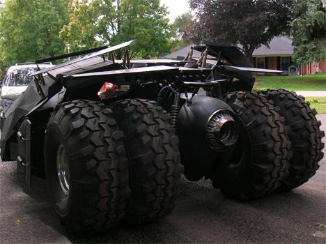 bob dullam tumbler batmobile diy home version