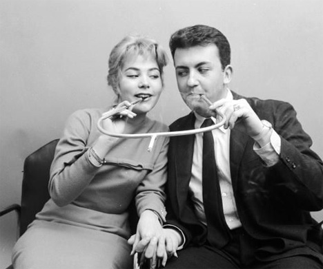 cigarette holder for two