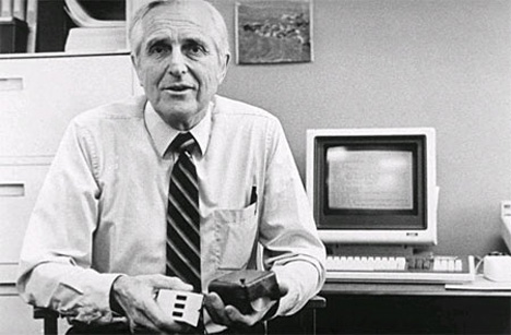 dr douglas engelbart stanford research institute computer mouse