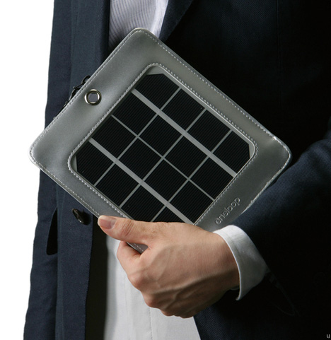 eneloop portable solar charger