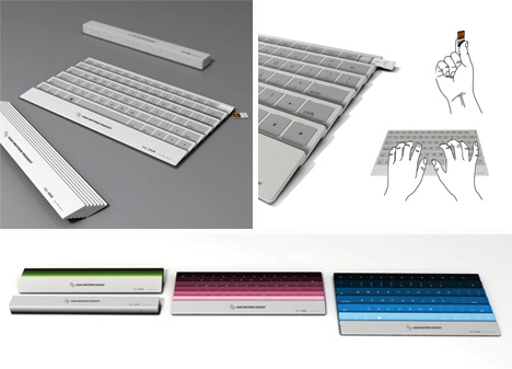 folding none bacteria keyboard