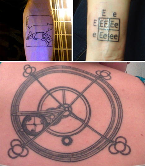 fun scientific tattoos