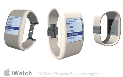 iwatch ipod watch design