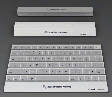 keystick folding fan keyboard