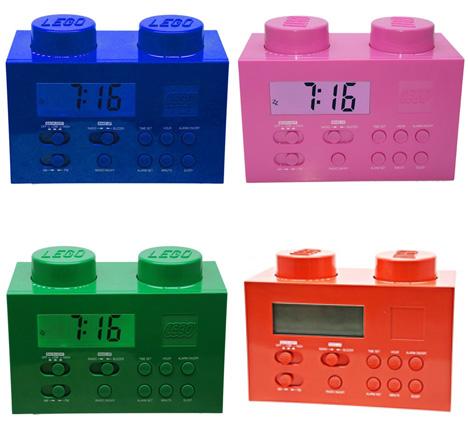 lego alarm clocks