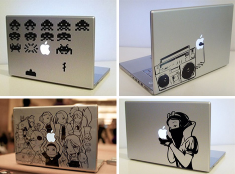 macbook decal art