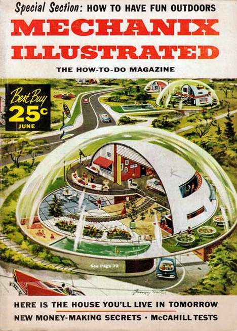 6 remarkable retrofuturistic visions of 21st century life for Tomorrow homes