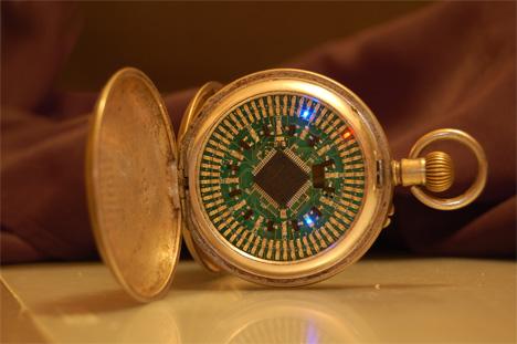 paul pounds led pocket watch