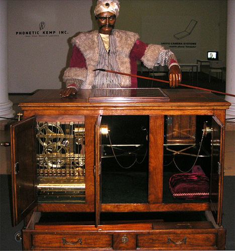 reconstruction of turk automoton chess player