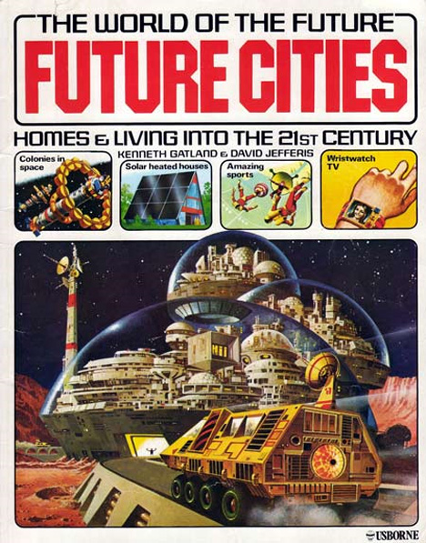 retrofuturistic cities of tomorrow