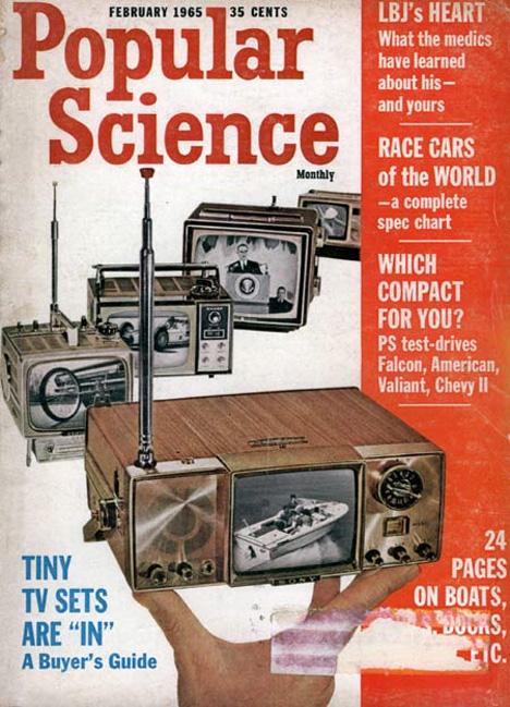 retrofuturistic tiny tvs
