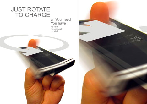 rotel spin to charge phone