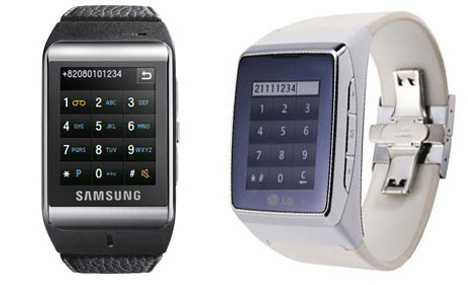 samsung and lg watch phones