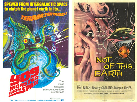 sci fi alien movies vintage movie posters