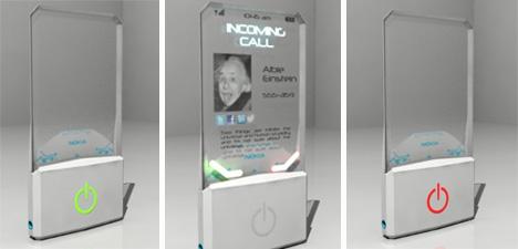 see through nokia cell phone