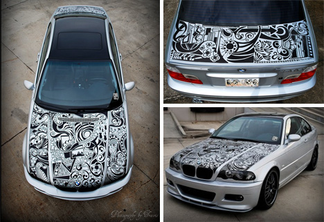 Extreme Art In Motion 10 Crazy Cool Artistic Car Mods