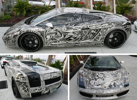 Extreme Art In Motion Crazy Cool Artistic Car Mods Gadgets - Cool car art